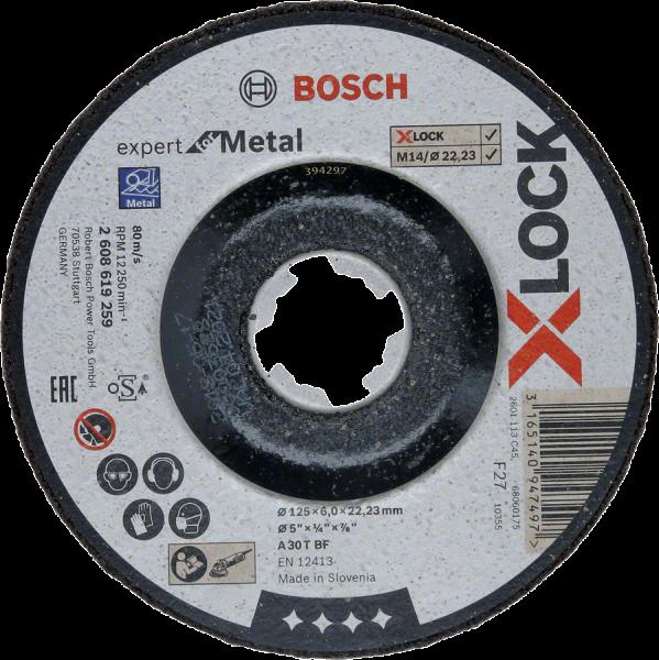 BOSCH X-LOCK Schruppscheiben Expert for Metal