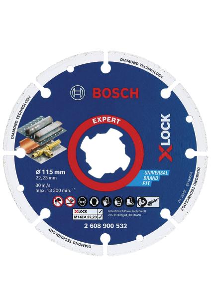 BOSCH X-LOCK Diamant-Metallscheiben