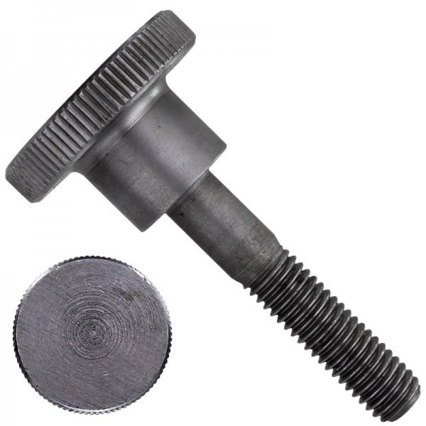 Rändelschrauben DIN 464 Stahl Blank