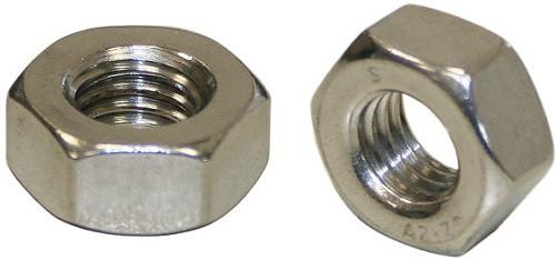 Sechskantmuttern DIN 934 Edelstahl A4