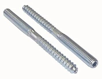 Stockschrauben mit reduziertem Holzgewinde und Torx Aufnahme