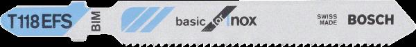 BOSCH Stichsägeblatt T 118 EFS