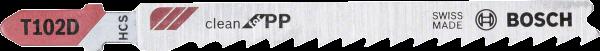BOSCH Stichsägeblatt T 102 D
