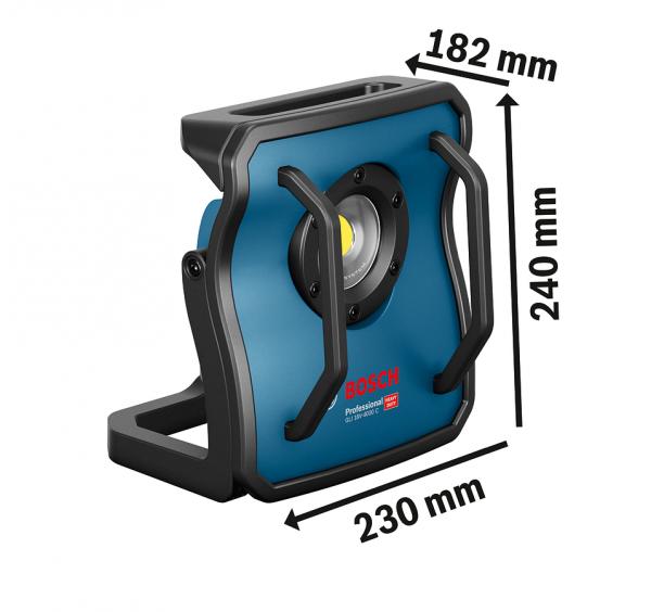 BOSCH Akku-LED-Strahler GLI 18V-4000C