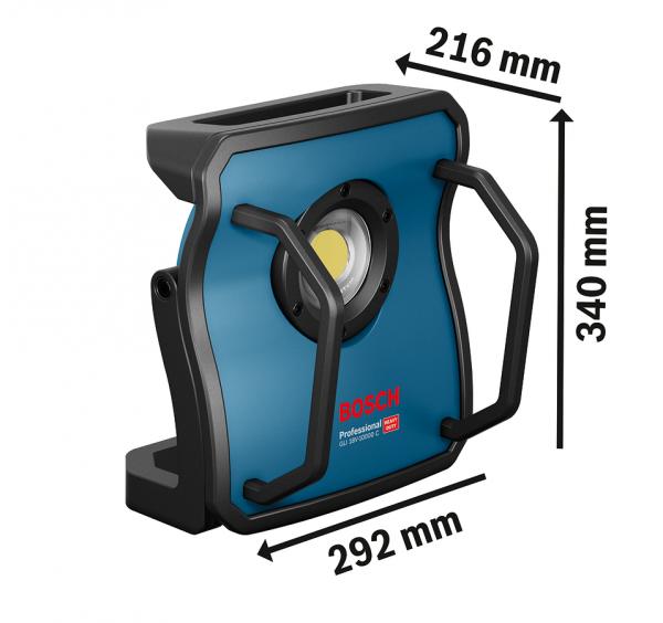 BOSCH Akku-LED-Lampe GLI 18V-10000C
