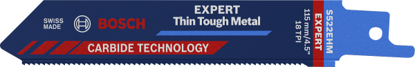 BOSCH EXPERT S522EHM Thin Tough Metal