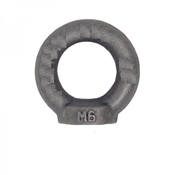Ringmutter DIN 582 Stahl Blank