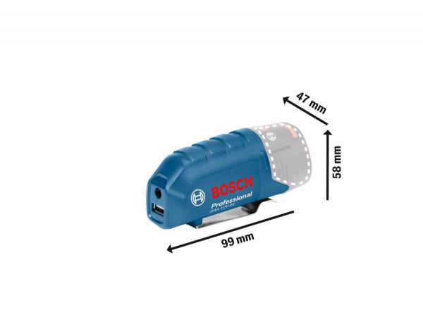 BOSCH USB-Ladeadapter GAA 12V-21