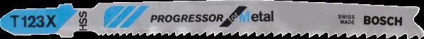 BOSCH Stichsägeblatt T 123 XF