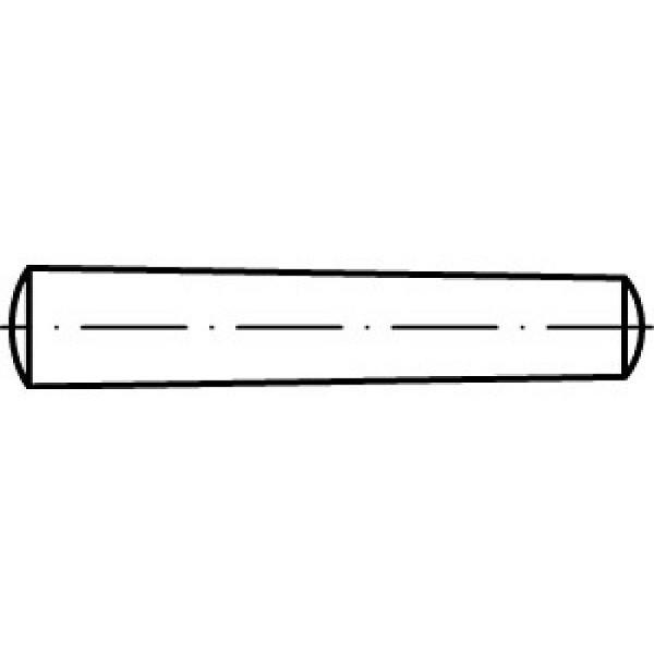 Kegelstifte DIN 1 Blank