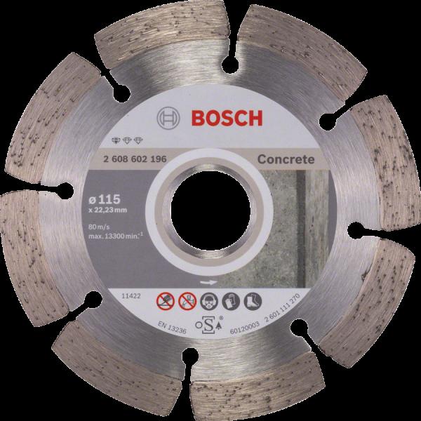 BOSCH Diamanttrennscheibe Standard for Concrete