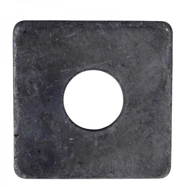 Vierkantscheiben DIN 436 Stahl Blank