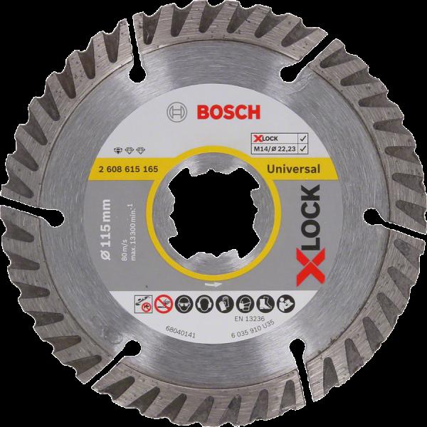 BOSCH Diamant-Trennscheiben Standard for Universal X-LOCK