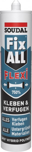 Soudal FixAll Flexi Weiß 470g